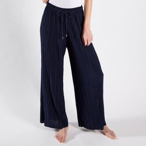 Palazzo Pants Navy with adjustable waist string